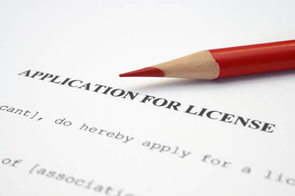 business license application
