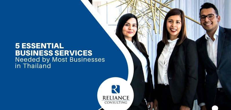 5 Essential Business Services Needed by Most Businesses in Thailand