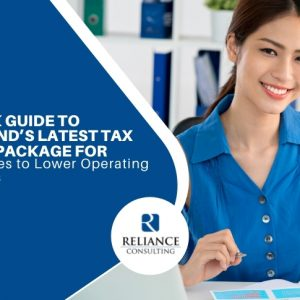 A Quick Guide to Thailand's Latest Tax Relief Package for Businesses to Lower Operating Expenses